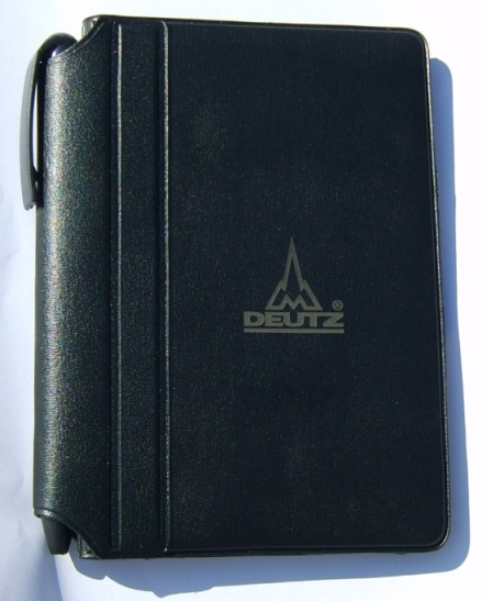 black-imitation-leather-jotter-deutz-logo