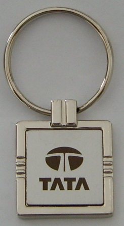 brished-stainless-steel-square-key-ring-tata-logo