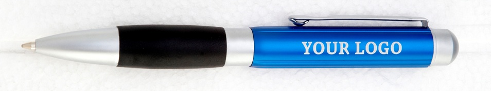 pin-stripe-blue-anodised-aluminium-pen-with-black-rubber-grip