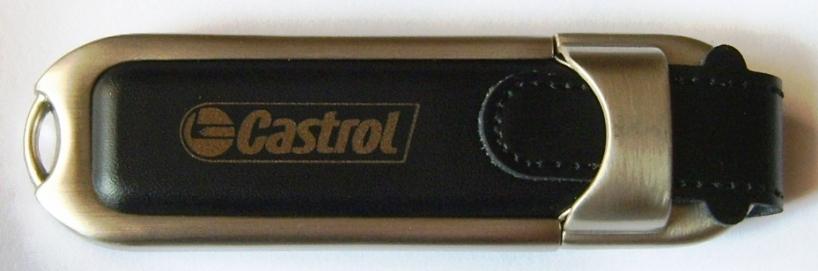 usb-leather-casing-castrol-logo