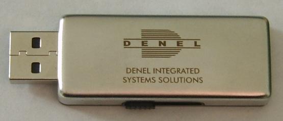 usb-retractable-metal-matt-nickle-denel-logo