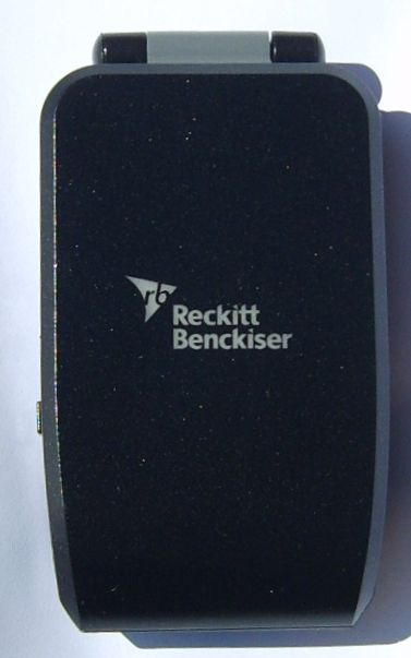 cell-phone-mobile-phone-charger-black-reckitt-benckiser-logo