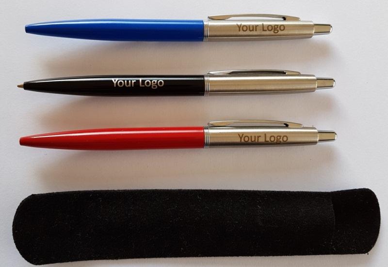 Metal Executive Jotta Pens engraved